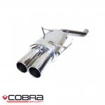 """Cobra Sport BMW 3 Series E46 320i (1998-2006) 2.50"""" Rear Silencer - BM18TP46"""