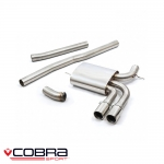 "Cobra Sport Mini F56 Cooper S Rest Of The World Models (2004-2018) 3.00"" Cat Back Exhaust System (Non-Resonated) - MN23"